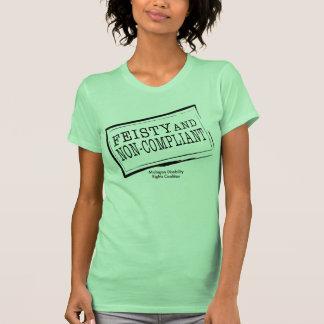 Camisetas sin mangas decididas