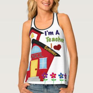 Camisetas sin mangas del diseño del verano de los