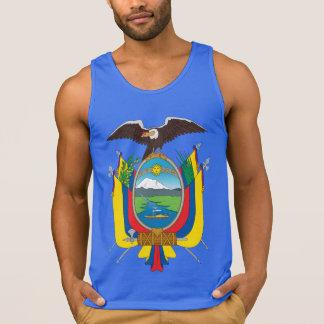 Camisetas sin mangas del escudo de armas del Ecuad