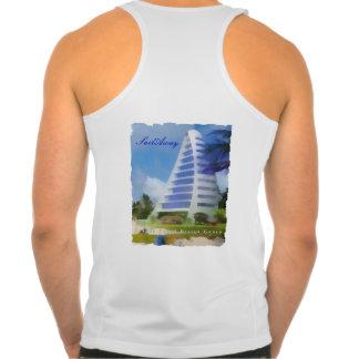 Camisetas sin mangas del grupo del diseño de la ve
