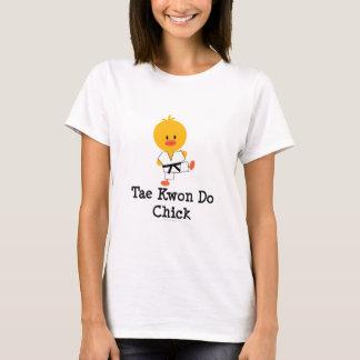 Camisetas sin mangas del polluelo del Taekwondo