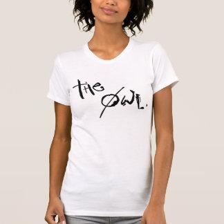 camisetas sin mangas del theowlblackwhite