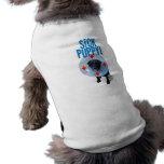 Camisetas sin mangas enfermas del perro de perrito camisa de perrito