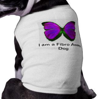 Camisetas sin mangas fibro del perro playera sin mangas para perro