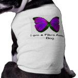 Camisetas sin mangas fibro del perro ropa de mascota