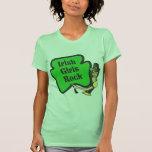 Camisetas sin mangas irlandesas de la roca de los
