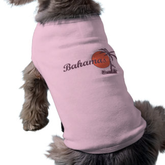 Camisetas sin mangas llevadas Bahama del mascota Playera Sin Mangas Para Perro