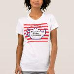Camisetas sin mangas llevadas naturales del