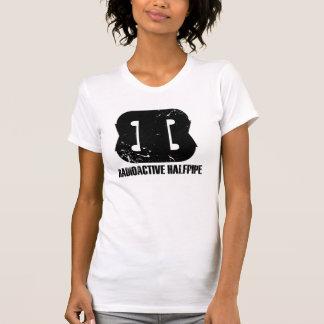 Camisetas sin mangas radiactivas del Halfpipe de