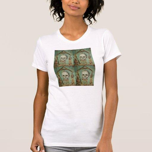Camisetas sin mangas romanas del mosaico del