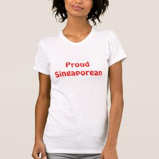 Camisetas sin mangas singapurenses orgullosas