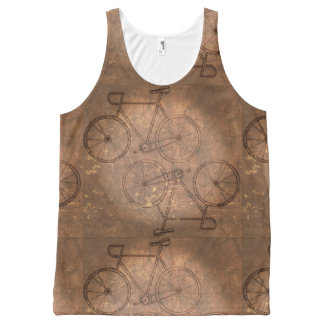 Camisetas sin mangas unisex de la bicicleta
