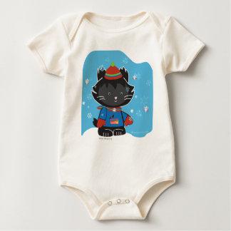 Camisetas sostenibles del gatito de Gualterio