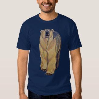 Camisetas unisex del arte del oso polar del playeras