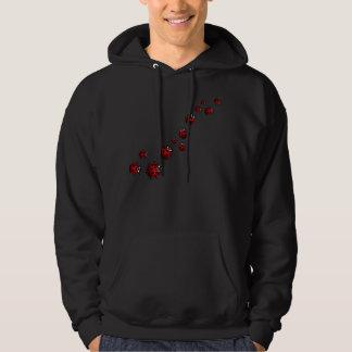 Camisetas unisex del camisetas de la mariquita de sudaderas con capucha