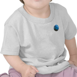 Camisetas vivas del bebé del amor de radio
