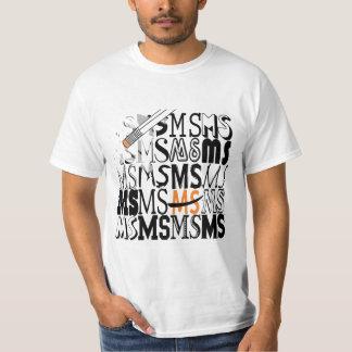 """""""Camisetas y camisetas del ms del borrado"""" Playeras"""