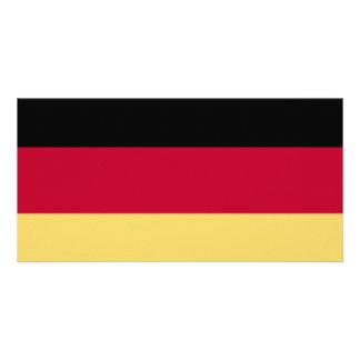 ¡Camisetas y más de la bandera de Alemania y de De Tarjeta Fotografica Personalizada