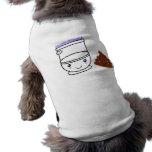 Camisetas y más de los amigos del retrete y de Poo Camisa De Mascota