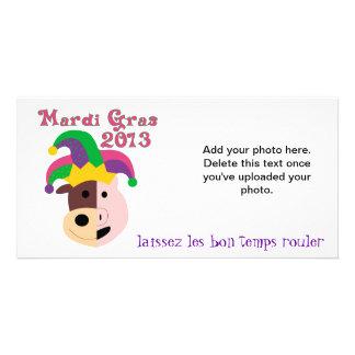 Camisetas y objetos de recuerdo del carnaval 2013 tarjeta personal