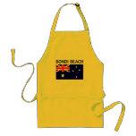 Camisetas y productos de Australia de la PLAYA de  Delantal