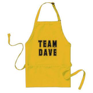 Camisetas y productos de Dave del equipo Delantal
