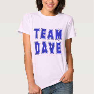 Camisetas y productos de Dave del equipo Playeras