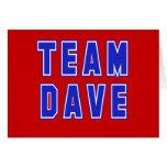 Camisetas y productos de Dave del equipo Felicitación