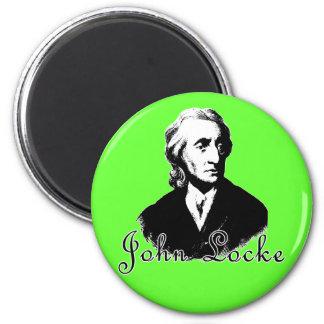 Camisetas y productos de JOHN LOCKE Imán Redondo 5 Cm