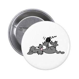 Camisetas y regalos 219 del gatito pin redondo de 2 pulgadas