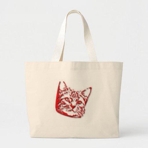 Camisetas y regalos 333 del gatito bolsa