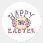 Camisetas y regalos adorables del huevo de Pascua Pegatina Redonda