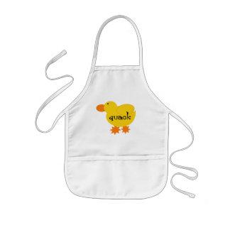 Camisetas y regalos amarillos del curandero del pa delantal