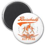 Camisetas y regalos anaranjados de All Star del bé Imán Para Frigorífico