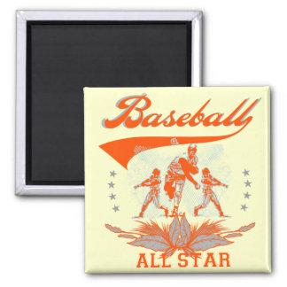 Camisetas y regalos anaranjados de All Star del bé Imán Para Frigorifico