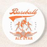 Camisetas y regalos anaranjados de All Star del bé Posavasos Diseño