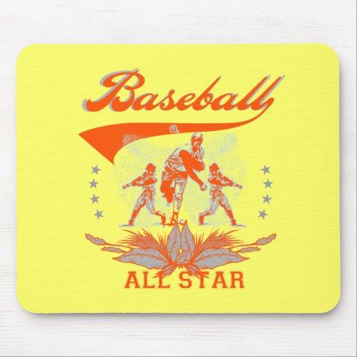 Camisetas y regalos anaranjados de All Star del bé Alfombrillas De Ratón