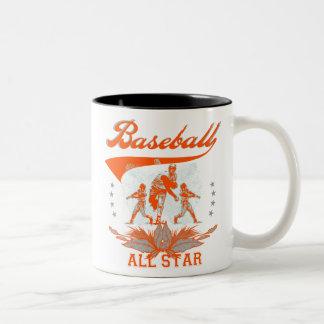 Camisetas y regalos anaranjados de All Star del bé Tazas