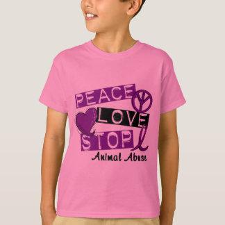 Camisetas y regalos animales del abuso de la