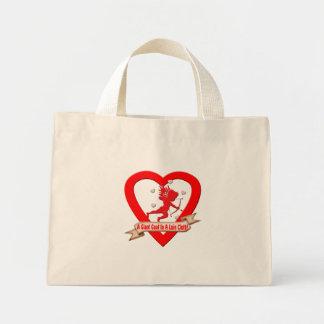 Camisetas y regalos antis del día de San Valentín Bolsa