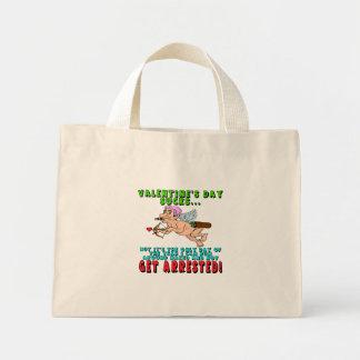 Camisetas y regalos antis del día de San Valentín Bolsa De Mano
