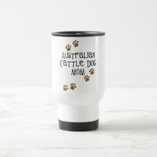 Camisetas y regalos australianos de la mamá del taza térmica