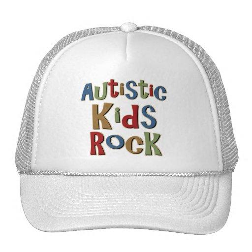 Camisetas y regalos autísticos de la roca de los n gorros