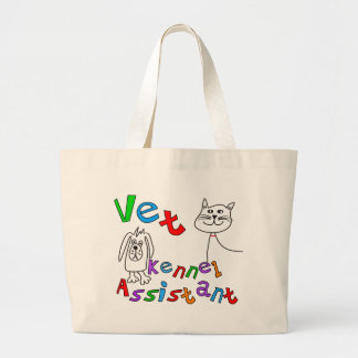 Camisetas y regalos auxiliares de la perrera del v bolsa lienzo