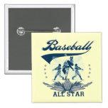 Camisetas y regalos azules de All Star del béisbol Pins