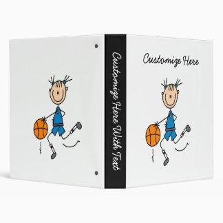 """Camisetas y regalos azules del jugador de básquet carpeta 1"""""""