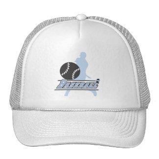 Camisetas y regalos azules del jugador de béisbol  gorra
