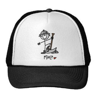 Camisetas y regalos básicos del minero gorras de camionero