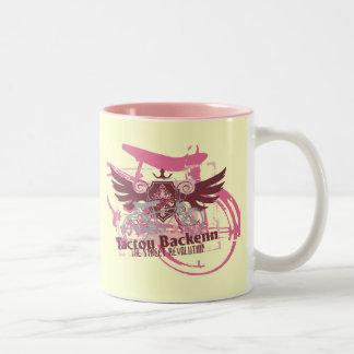 Camisetas y regalos Biking de la revolución de la  Tazas De Café