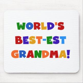 Camisetas y regalos brillantes de la abuela del Me Alfombrilla De Raton